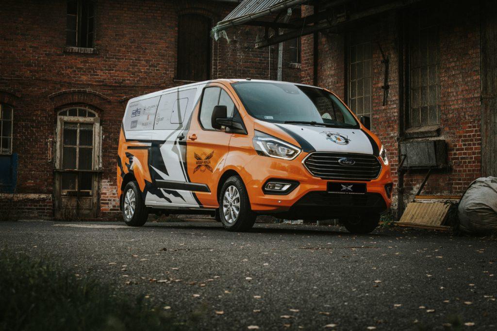 Oklejanie samochodów - Ford Tourneo