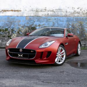 Oklejanie samochodów - Jaguar F-Type S