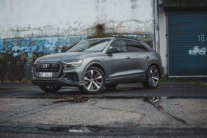 Oklejanie samochodów - Audi SQ8