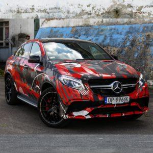 Oklejanie samochodów - Mercedes AMG GLE63s